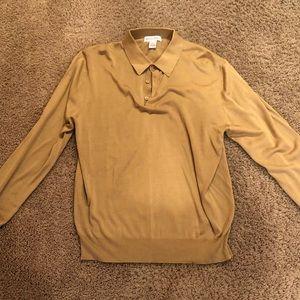 Men's silk shirt